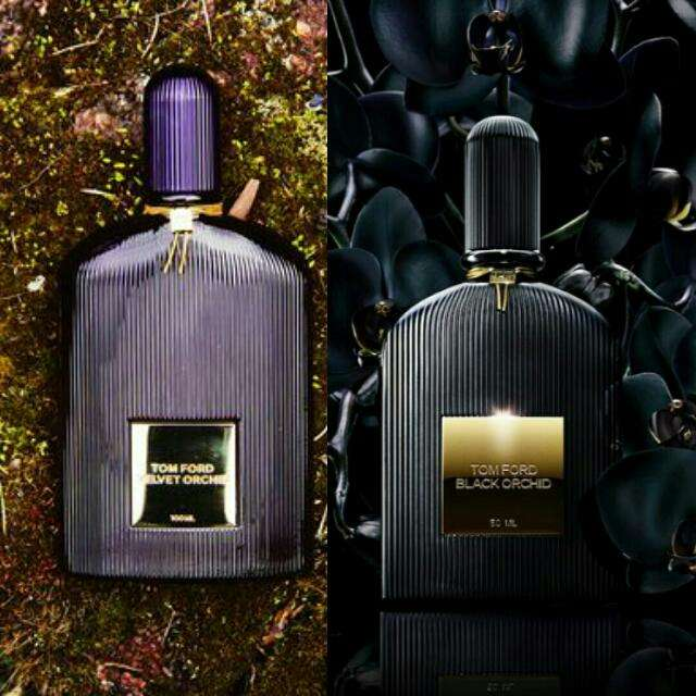 Tom Ford Velvet Orchid и Black Orchid
