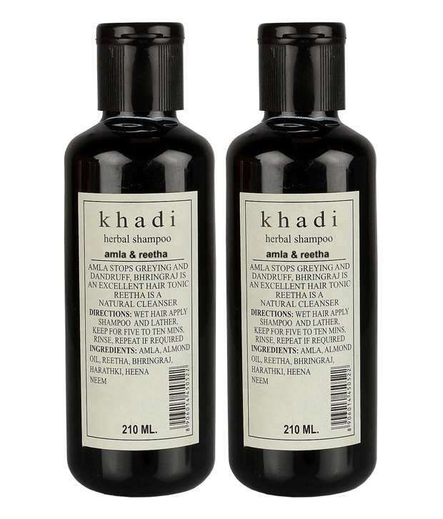 Khadi Amla Reetha Herbal Shampoo